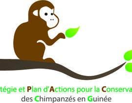 nº 25 pour Logo help chimpanzee par Mamotaj