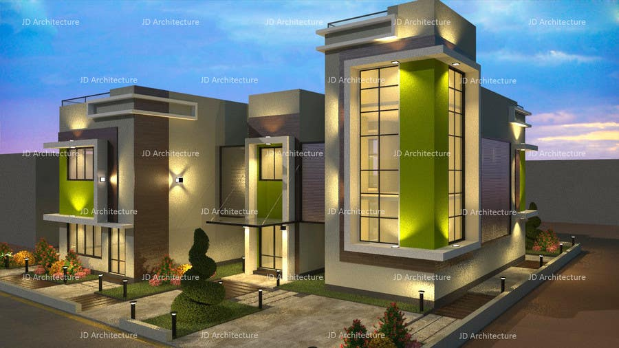 Proposition n°19 du concours Design and modification of the scheme Villa ( New Idea )