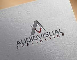 #6 for Audiovisual Logo by Marufdream