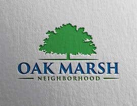 nº 91 pour Oak Marsh Neighborhood Logo par mindreader656871