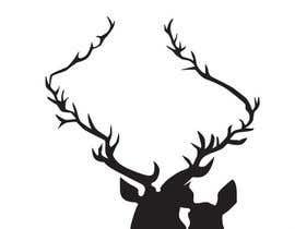 nº 18 pour Illustrate deer silhouette par Ipoel24