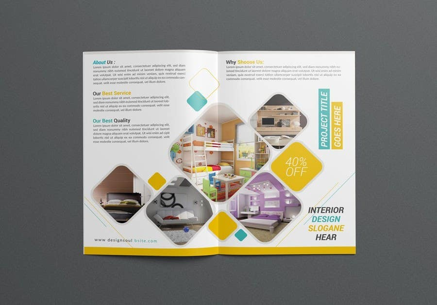 Proposition n°25 du concours Design a Brochure