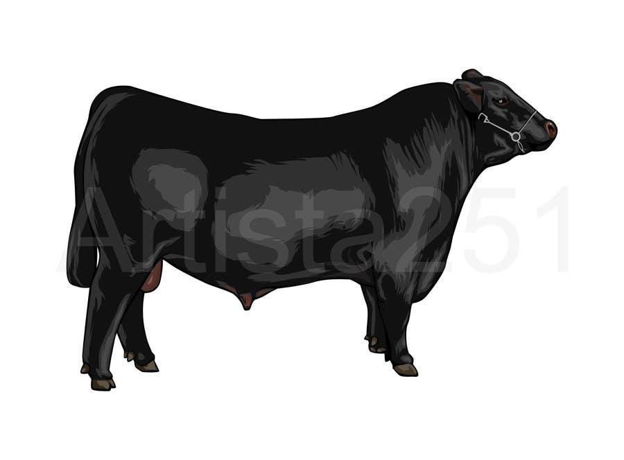 Proposition n°8 du concours Cattle Illustration