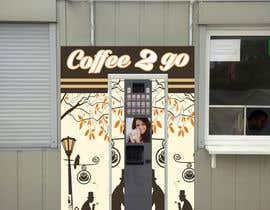 "nº 7 pour Design ""coffee corner"" wall/board par sutharashwin56"