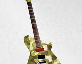 #2 for Design a guitar - Veterans Day Theme by anascont92