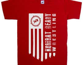 nº 36 pour design flag t-shirt par greenpeacepait