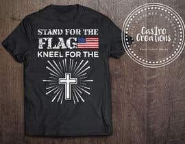 nº 3 pour Stand/Kneel t-shirt design par castroralph17