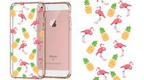 Proposition n° 24 du concours Graphic Design pour Flamingo and pineapple repeating pattern for a phone case.