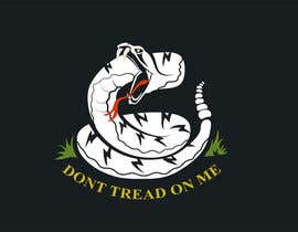 nº 15 pour Design a Snake T-Shirt (Gadsden flag - Tread On Me) par labtop08