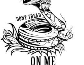 nº 13 pour Design a Snake T-Shirt (Gadsden flag - Tread On Me) par kaliuser54