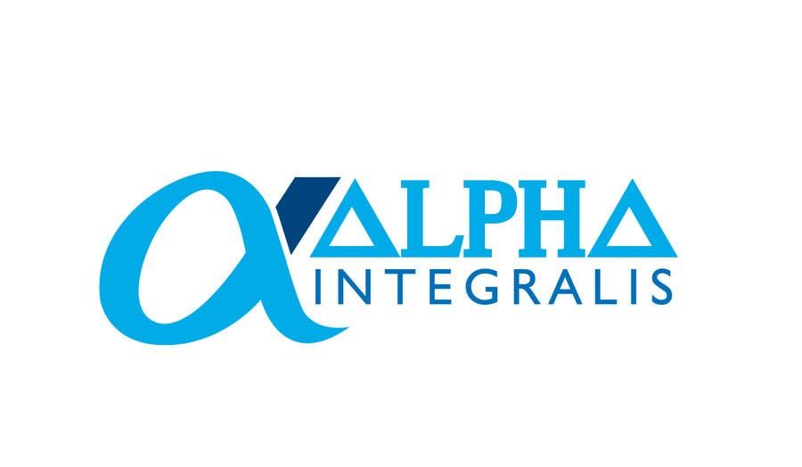 Penyertaan Peraduan #130 untuk Logo Design for Alpha Integralis