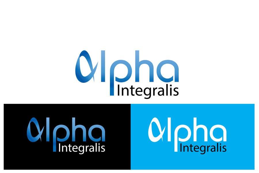 Penyertaan Peraduan #189 untuk Logo Design for Alpha Integralis
