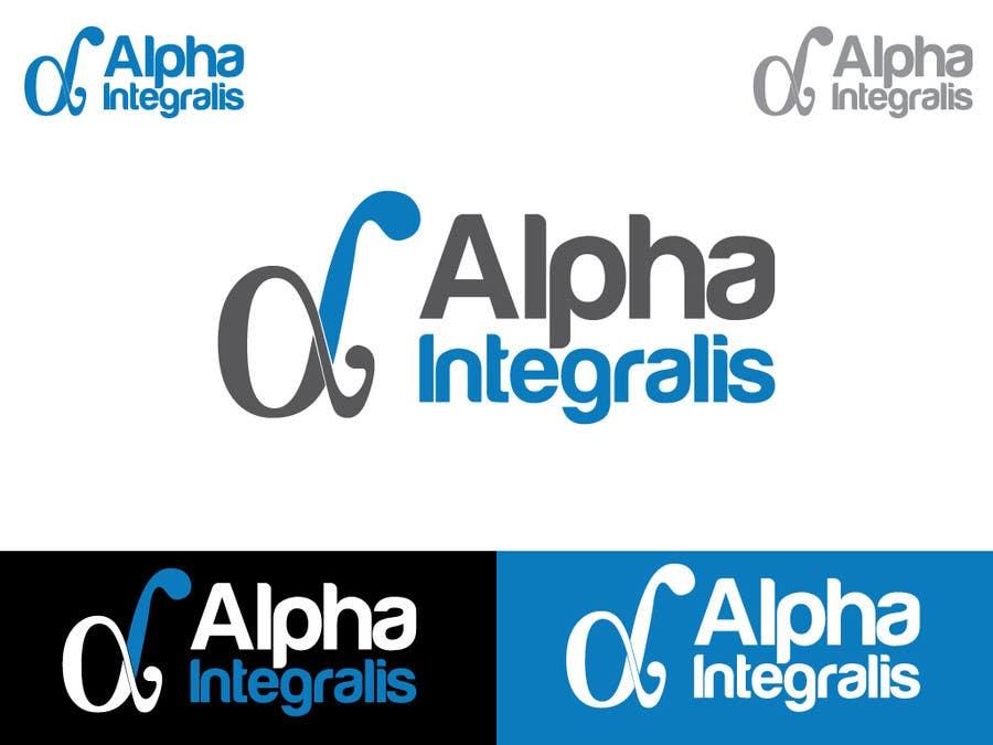 Penyertaan Peraduan #17 untuk Logo Design for Alpha Integralis