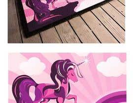 nº 15 pour Designs a unicorn for a doormat / Design für eine Einhorn Fußmatte par imagencreativajp