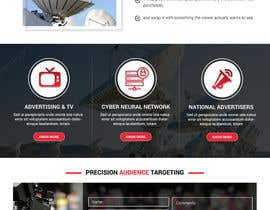 nº 23 pour Design first page only of website par rosepapri