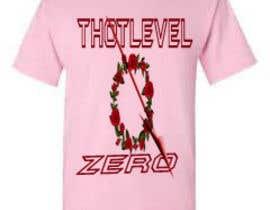 nº 45 pour Design a T-Shirt_thotlevelzero_v1 par fatematuj93