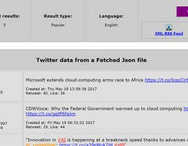 nº 1 pour Design a Website Mockup - Twitter Feed Dashboard par codingteacher