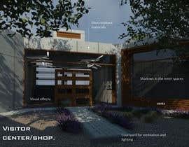 nº 19 pour Modelling of visitor center/shop par visibilizar