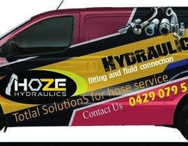 nº 20 pour Design a Hydraulics Hose Van graphics par sarawijesinghe