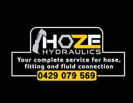 nº 9 pour Design a Hydraulics Hose Van graphics par spdmf