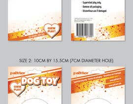 nº 23 pour Design a Brochure or flyer for dog toys to hang par DaveWL