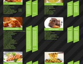 nº 9 pour Designing a Chinese take away menu par Hcreativestudio