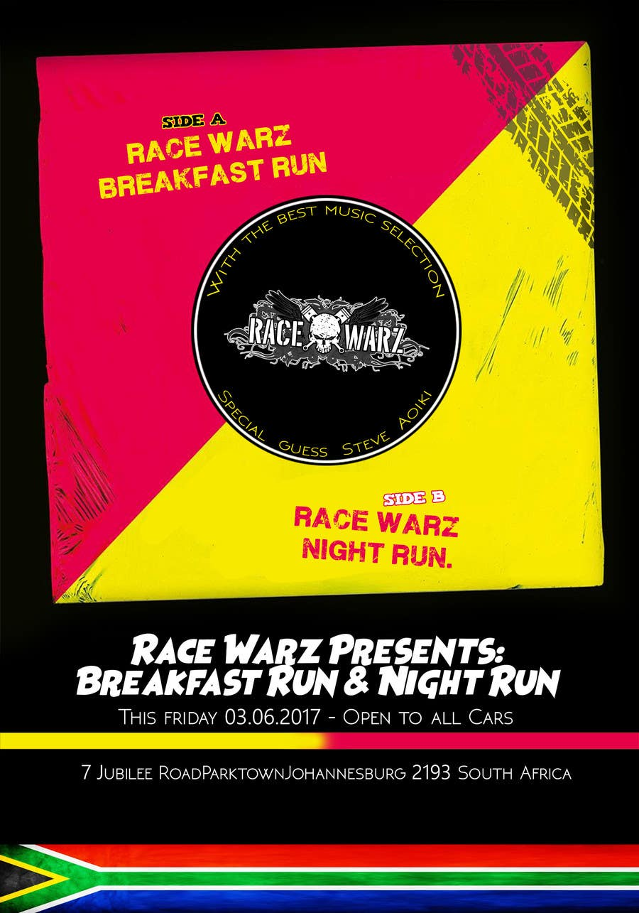 Proposition n°16 du concours Breakfast Run & Night Run Flyers