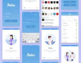 nº 29 pour Design an App Mockup par muhmfauzi