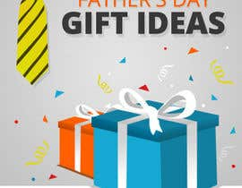 nº 59 pour Design a Banner for Fathers Day par AliChorov