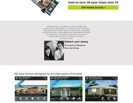 nº 5 pour HOME Landing Page par chouaieb90