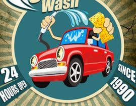#9 for I need help designing a Sign/banner for a Hand CarWash. by hossainkabir