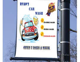 nº 3 pour I need help designing a Sign/banner for a Hand CarWash. par SheikhSazzad