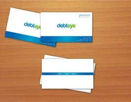 #92 pentru Business Card Design for Debteye, Inc. de către aries000