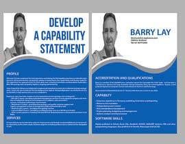 nº 1 pour Design a Flyer - Capability Statement par maidang34