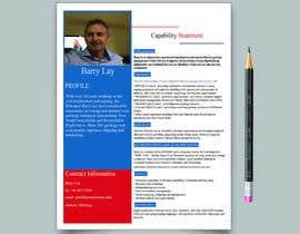 nº 7 pour Design a Flyer - Capability Statement par mdmanzurul