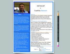 nº 16 pour Design a Flyer - Capability Statement par mdmanzurul