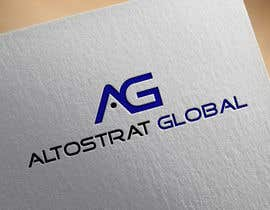 nº 68 pour Design a Logo for Altostrat Global par AleeStudio