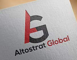 nº 18 pour Design a Logo for Altostrat Global par pranto425