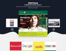 nº 11 pour Design a Website Homepage for Marketing and Digital Company par pixelwebplanet