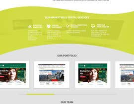 nº 5 pour Design a Website Homepage for Marketing and Digital Company par H4LW4