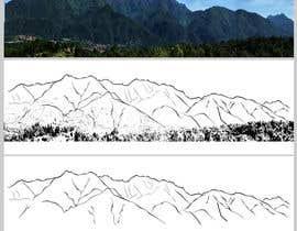 nº 10 pour Pyrennees mountain tattoo design par Rodrogo