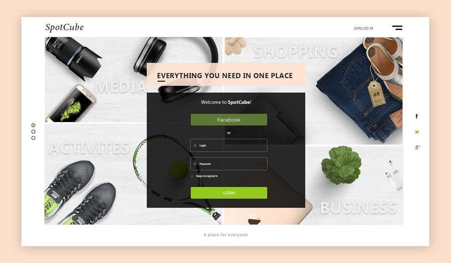 Proposition n°46 du concours website background Homepage