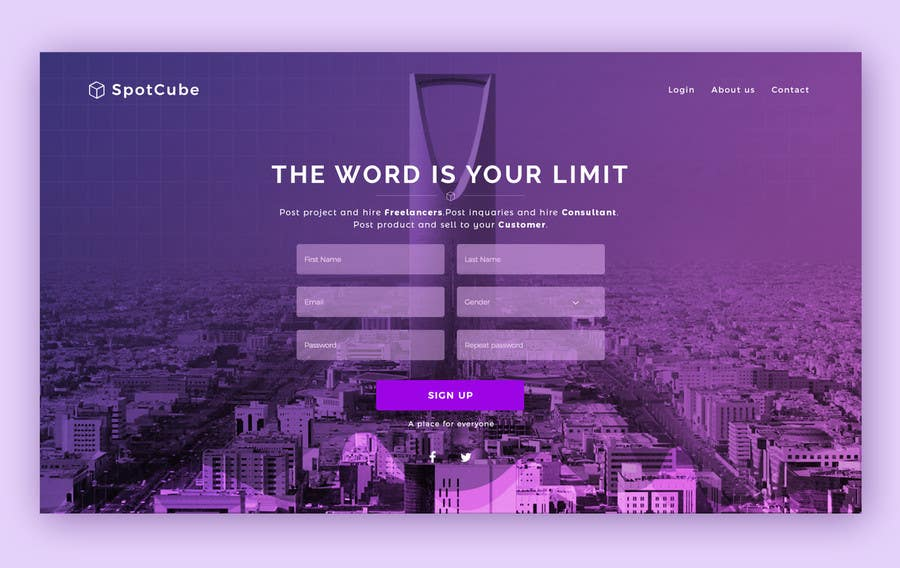 Proposition n°54 du concours website background Homepage