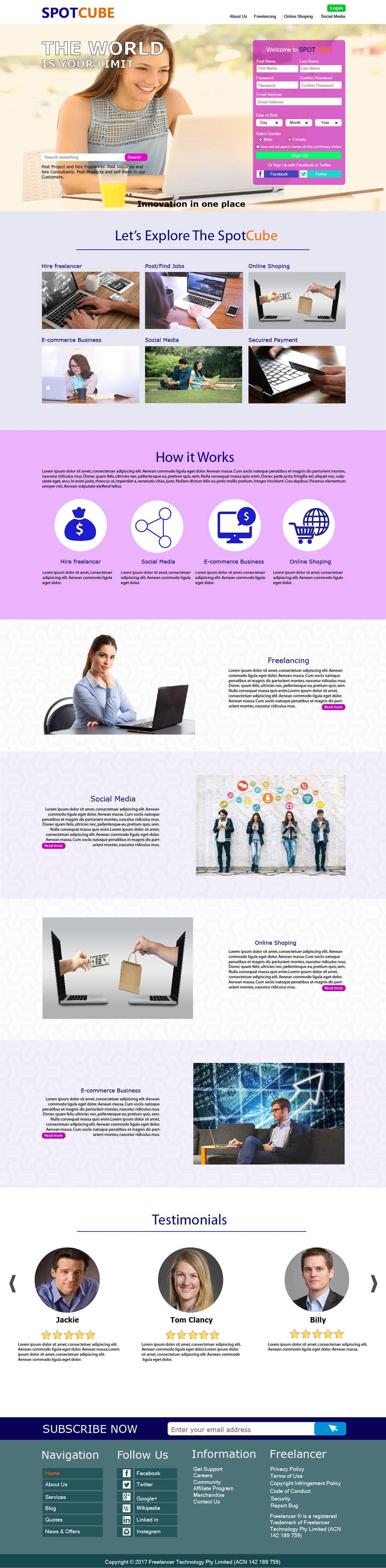 Proposition n°71 du concours website background Homepage