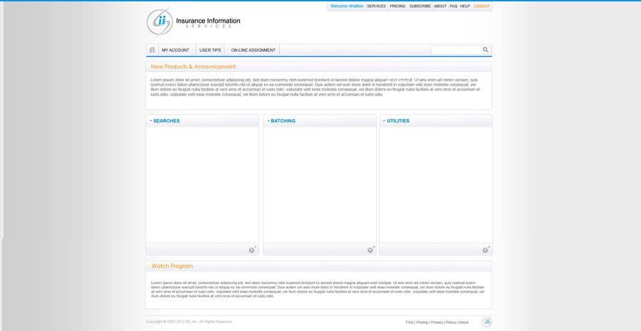 Penyertaan Peraduan #44 untuk Website Design for First InfoSource