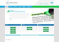 Graphic Design Entri Peraduan #51 for Website Design for First InfoSource