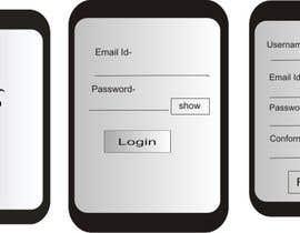 nº 4 pour Design an App screens in PSD par artikarkhanis