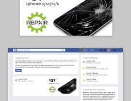 nº 20 pour iRepair Facebook Ad par Qweser