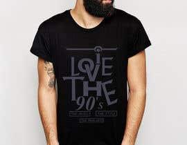 nº 34 pour Design a T-Shirt_ilovethe90s par Inzamam17