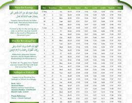 nº 7 pour Design a Ramadaan Calendar par Flywithstyle